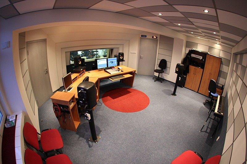 Akustické úpravy v režijním pracovišti konzervatoře