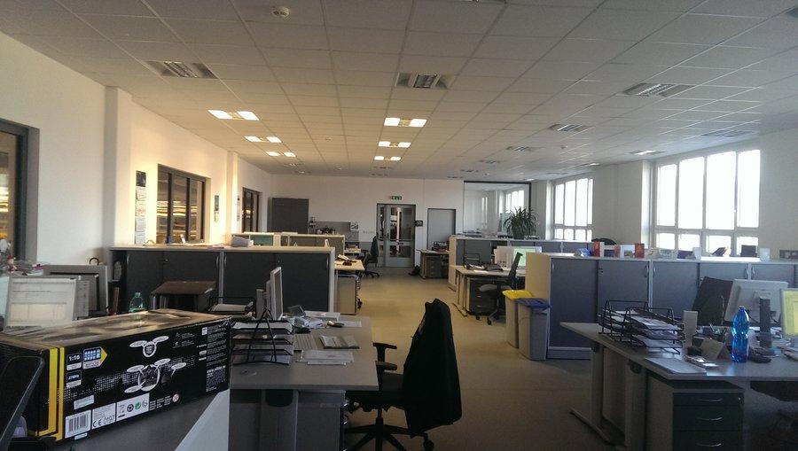 Zatlumení openspace kanceláří